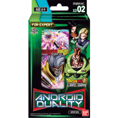 Dragon Ball Super Card Game - Expert Deck 2, Englisch
