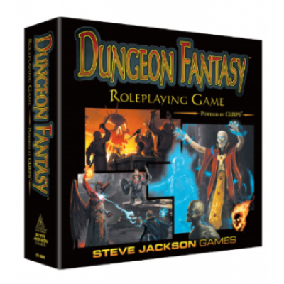 Dungeon Fantasy Roleplaying Game, English