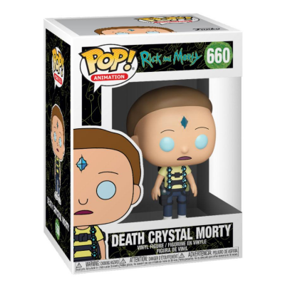Rick and Morty POP! Animation Vinyl Figure Death Crystal Morty 9 cm
