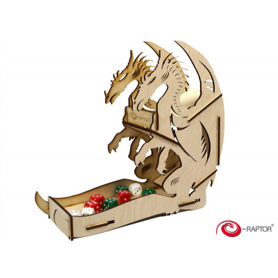 Dice Tower Large: Dragon (Wooden)