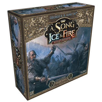 A Song of Ice & Fire - Freies Volk Starterset, Deutsch