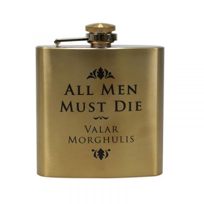 Game of Thrones Hip Flask Valar Morghulis