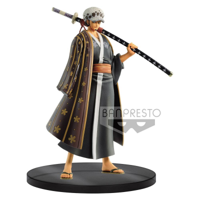 One Piece DXF Grandline Men PVC Statue Wanokuni Vol. 3...