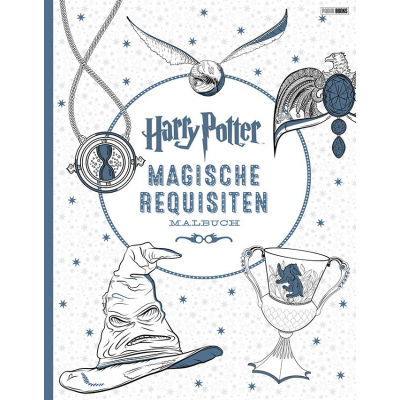 Harry Potter: Magische Requisiten - Malbuch