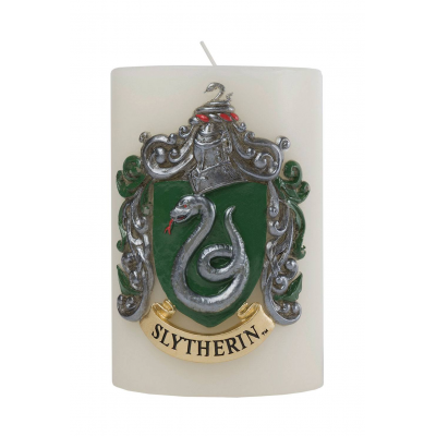 Harry Potter XL Kerze Slytherin 15 x 10 cm