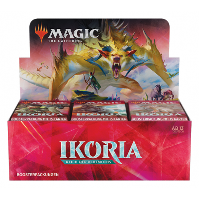 MTG - Ikoria: Lair of Behemoths Booster Display, German