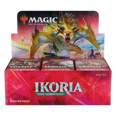 MTG - Ikoria: Lair of Behemoths Booster Display, English
