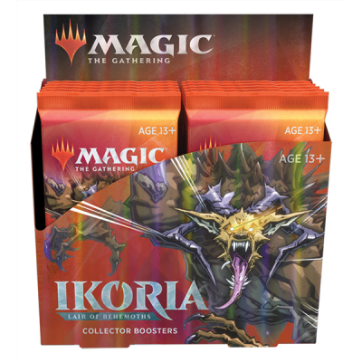 MTG - Ikoria: Lair of Behemoths Collector Booster...