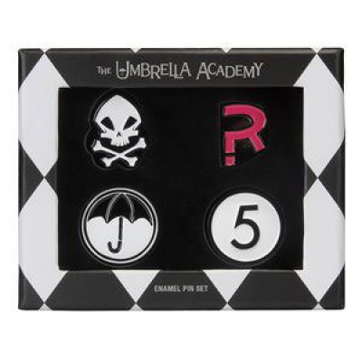The Umbrella Academy Pin Badges 4-Pack