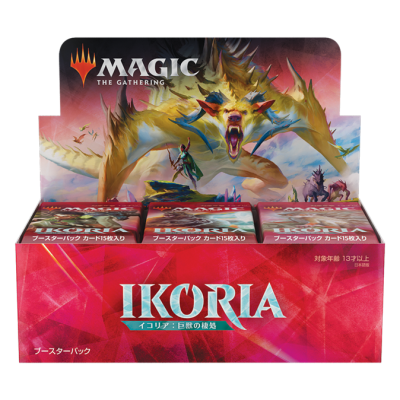 MTG - Ikoria: Lair of Behemoths Booster Display (36) (JP)