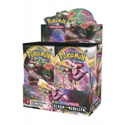 Pokemon Sword and Shield 2 Clash of Rebels Booster...