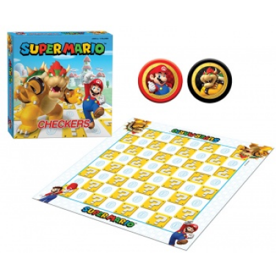 Super Mario Checkers (GER/EN/SP/FR/IT)