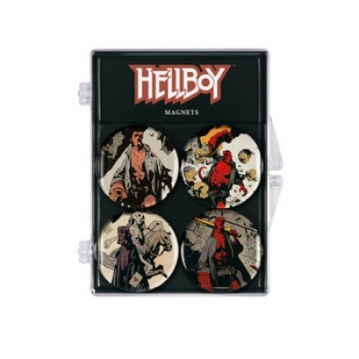 Hellboy Magnets 4-Pack