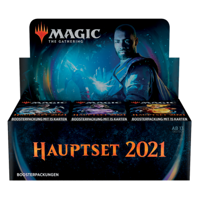 MTG - M21 Core Set Draft Booster Display (36), German