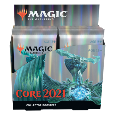 MTG - M21 Core Set Collector Booster Display, English