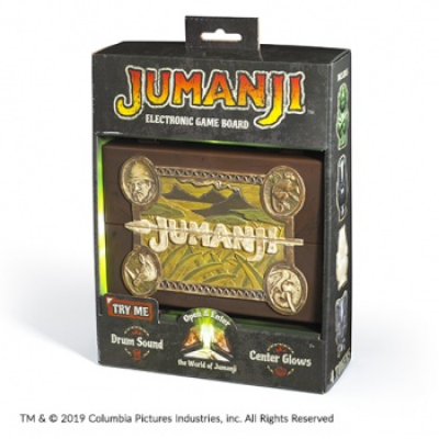Jumanji Miniature Electronic Game Board (EN)