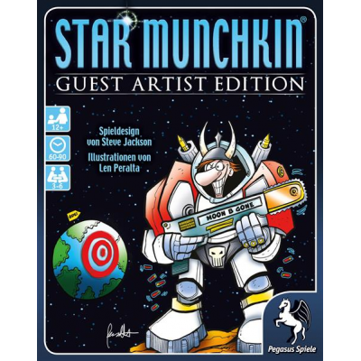 Star Munchkin - Guest Artist Edition - Peralta-Version