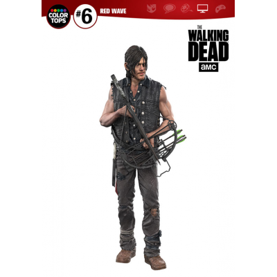 The Walking Dead TV Version Color Tops Action Figure...