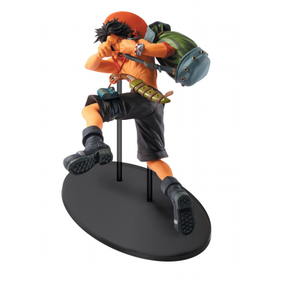 One Piece Scultures Figur Big Zoukeio 4 Ace 9 cm