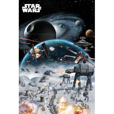 Poster - Battle - STAR WARS