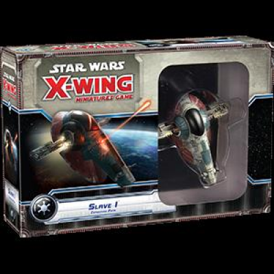 Star Wars X-Wing: Slave 1 Expansion Pack, German