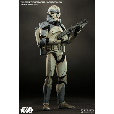 Action Figure - Wolfpack Clone Trooper 104th Battalion...
