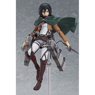 Attack on Titan Figma Action Figure Mikasa Ackerman 15 cm