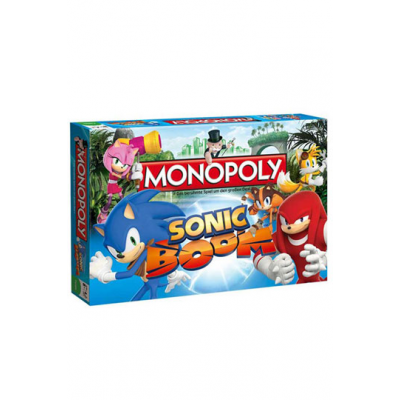 Sonic Boom Board Game Monopoly, German