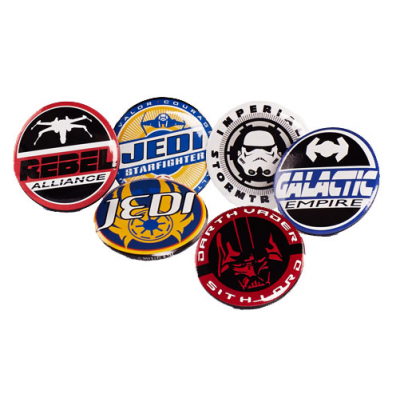 Pin Badges 6-Pack