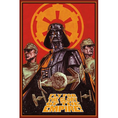 Poster - Fly for the Glory 61 x 91 cm - STAR WARS