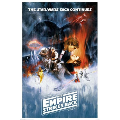 Poster - The Empire Strikes Back 61 x 91 cm - STAR WARS
