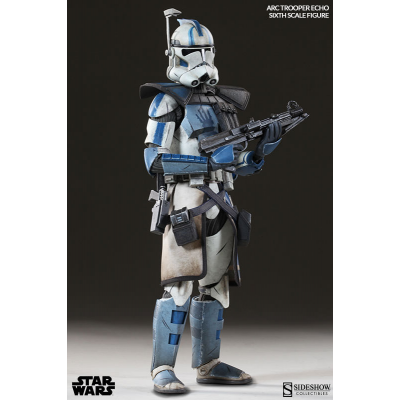 Action Figure - Arc Clone Trooper Echo Phase II Armor 1/6...