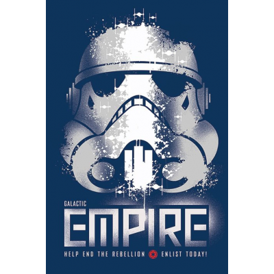 Poster - Rebels, Enlist 61 x 91 cm - STAR WARS