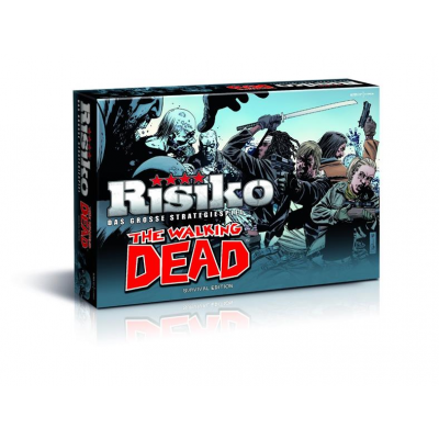 The Walking Dead Brettspiel Risiko, Deutsch