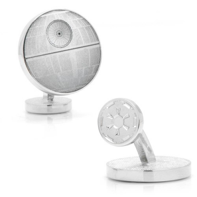 Cufflinks - Death Star Blueprint - STAR WARS