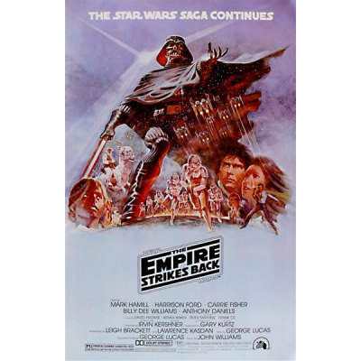 Poster - Empire Strikes Back, Style B - STAR WARS