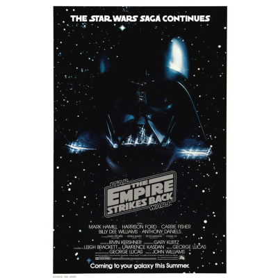 Poster - Empire Strikes Back, Advance Style A - STAR WARS