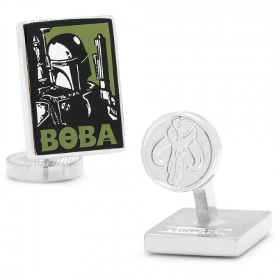 Cufflinks - Boba Fett Pop Art - STAR WARS