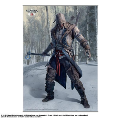 Wandscroll - Vol. 1 105 x 77 cm - Assassins Creed III