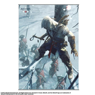 Wandscroll - Vol. 2 105 x 77 cm - Assassins Creed III