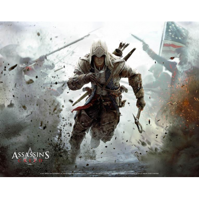 Wandrolle - Connor 100 x 77 cm - Assassins Creed