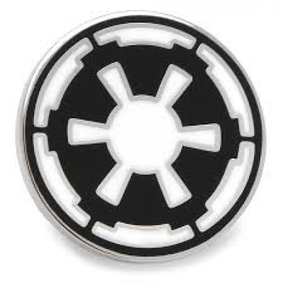 Lapel Pin - Imperial Symbol - STAR WARS