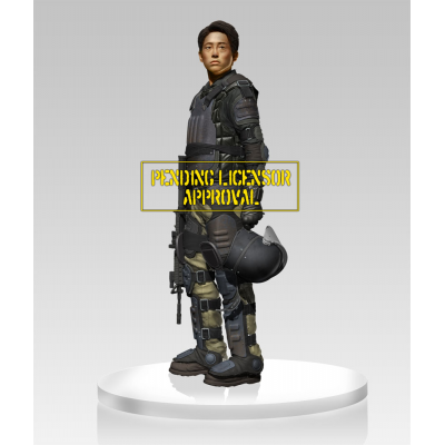 Statue - Glenn in Riot Gear 1/4 45 cm - The Walking Dead