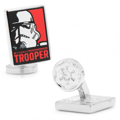 Cufflinks - Stormtrooper Pop Art - STAR WARS