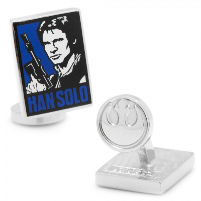 Cufflinks - Han Solo Pop Art - STAR WARS
