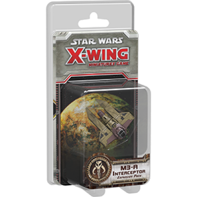 Star Wars X-Wing: M3-A Interceptor Expansion Pack, German