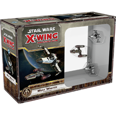 Star Wars X-Wing: Most wanted! Expansion Pack, German