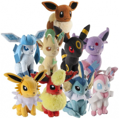 Pokemon Plush Figures 20 cm Assortment Eevee