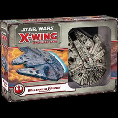 Star Wars X-Wing: Millenium Falcon Expansion Pack, German