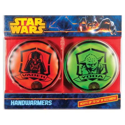 Handwärmer - Darth Vader & Yoda, 2er- Pack - STAR WARS